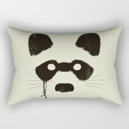 Raccoon {Light} Rectangular Pillow