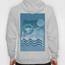 Sea Symphony in BLUE Hoody
