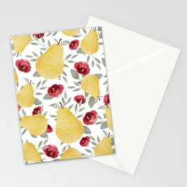 Delicate Pears Stationery Cards