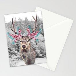 Fluttering Stag Stationery Cards