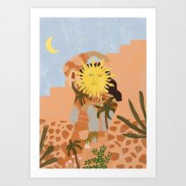 Soul full of sunshine Art Print