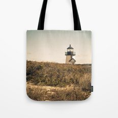 Nantucket Lighthouse Tote Bag