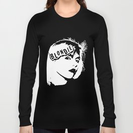 Blondie New Wave Punk Rock 70's 80's Vintage Style 70S T-Shirts Long Sleeve T-shirt