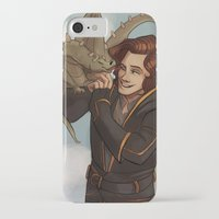 dungeons and dragons iPhone & iPod Cases featuring Dragons and Direction: Harry by invisibleinnocence