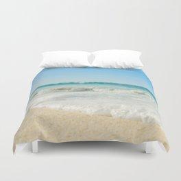 Aloha Kapukaulua Beach Duvet Cover