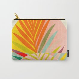 minimal leave tropical spring Carry-All Pouch