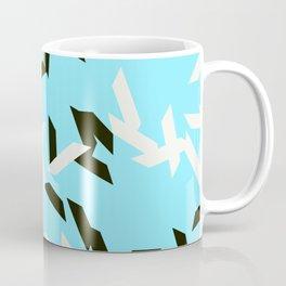 random trapezoids pattern_skyblue Coffee Mug