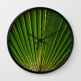 life green Wall Clock