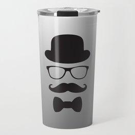 Original Hipster Travel Mug