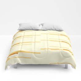 shades of creme Comforters
