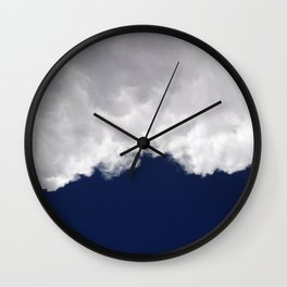 Rumble Blue Wall Clock