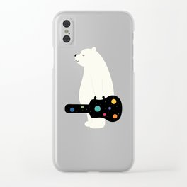 Chase Your Dreams Clear iPhone Case