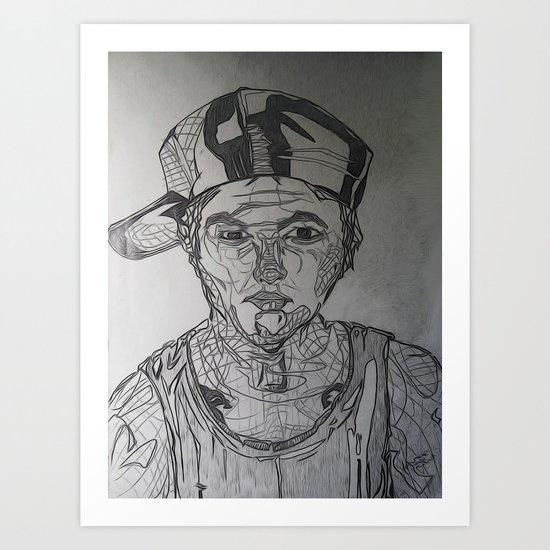 Youth Dayz Art Print