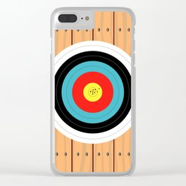 Shooting Target Clear iPhone Case