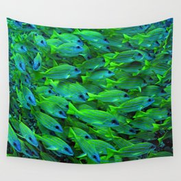 Fishies Wall Tapestry