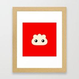 Pocket Pork Dumpling Framed Art Print