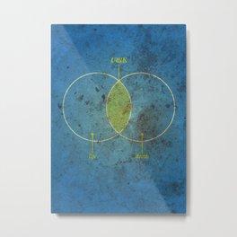 Ubik Metal Print