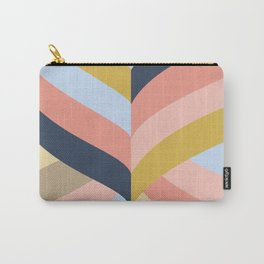 SUNSET MINIMAL STRIPES Carry-All Pouch
