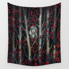 Night so Dark, Where are you? Wall Tapestry