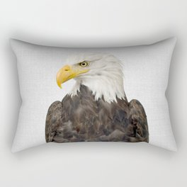 Eagle - Colorful Rectangular Pillow