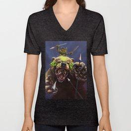 Goblin Bear Cavalry Unisex V-Neck