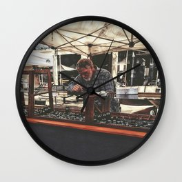 Hard at work Wall Clock
