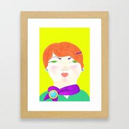 Elisa Cual Framed Art Print