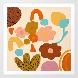 Flower Fun Art Print