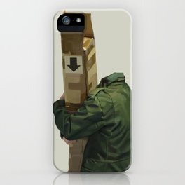 you're holding it wrong iPhone Case