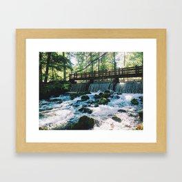 Spring Falls Framed Art Print