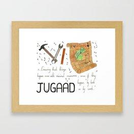 Jugaad Framed Art Print