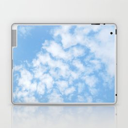 Summer Sky with fluffy clouds Laptop & iPad Skin