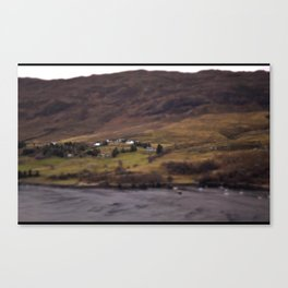 New Years Day, one year in Ullapool. Canvas Print