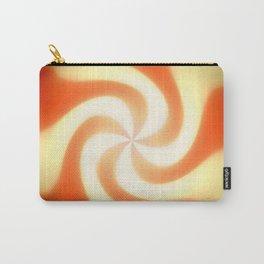 Retro sunburst design Carry-All Pouch