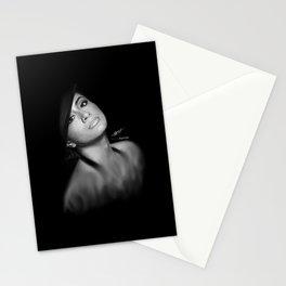 Ally Brooke Hernandez 'Reflection' Digital Painting Stationery Cards