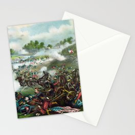 Battle Of Bull Run -- Civil War Stationery Cards