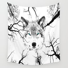 Wolf Wall Tapestry