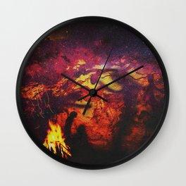 American Dreamtime Wall Clock