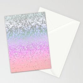 Glitter Star Dust G251 Stationery Cards