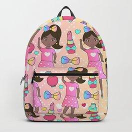 Fashion Cute Girl Doll Backpack