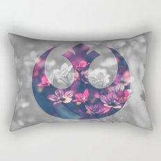 Floral Rebel Alliance Rectangular Pillow