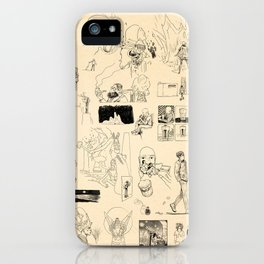 Patchwork iPhone Case