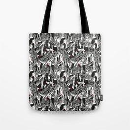 GIRAFFE / pattern pattern Tote Bag