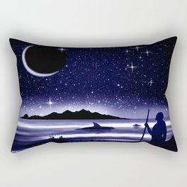 45° southern latitude. Crux australis. Rectangular Pillow
