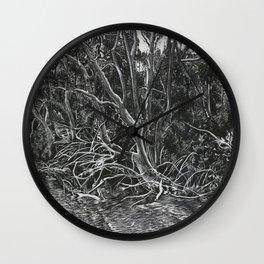 The Mangroves Wall Clock