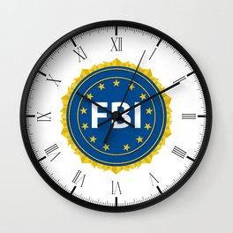 FBI Seal Wall Clock
