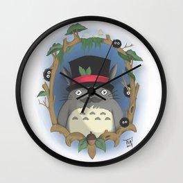 Portrait of my Neighbour Wall Clock