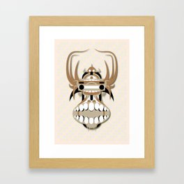 Hung Head Framed Art Print