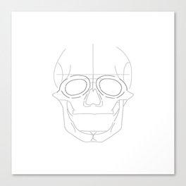 Skull-y Canvas Print