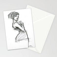 Lady-1 Stationery Cards